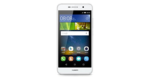 "Huawei Y6 Pro Dual SIM 4G 16GB White - Smartphones (12.7 cm (5""), 16 GB, 13 MP, Android, 5.1, White)"