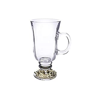 Arthur Court Designs Grape Gold Plated Accent Glass Tea/Coffee/Wine Glass Mugs 6