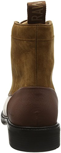 G-STAR RAW Myrow Leather, Bottes Rangers Homme Marron (chestnut 2497)