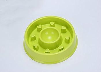 Gamelle anti-glouton de Haute Qualité Bol Écuelle à chat pour Eviter Manger Vite Bol D'alimentations et D'eaux Pour Chien Chat Chiot etc.20*19*4.5CM