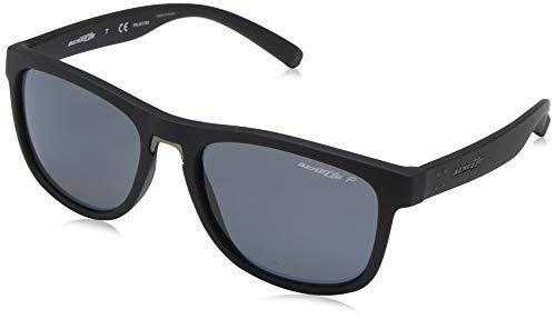Ray-ban 0an4252 occhiali da sole, nero (black rough), 56 uomo