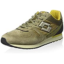 7f38f946f B6738 sneaker uomo LOTTO LEGGENDA TOKYO SHIBUYA scarpa verde oliva shoe man
