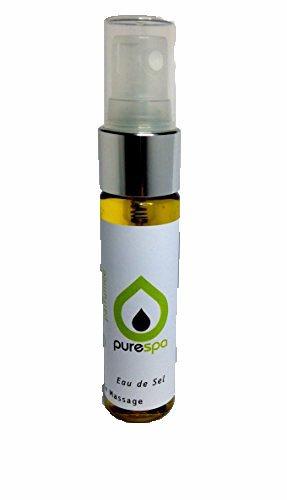 Olio di massaggio 100% Vegetale Thalasso Acqua di sale, Spray Pocket, senza paraffina