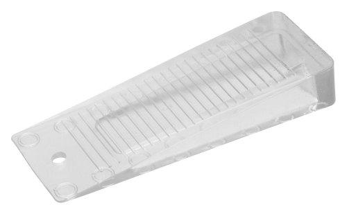 5 Stück Danto® Spar Pack Türkeil, Türstopper, Türfeststeller transparent, Kunststoff, Länge 10 cm