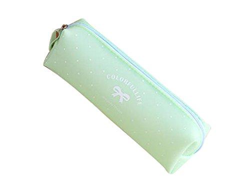 Astuccio per matite in silicone - Candy series (Verde)