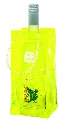 Ice-Bag 6-er Pack clear gelb yellow - Weinkühler - Flaschenkühler