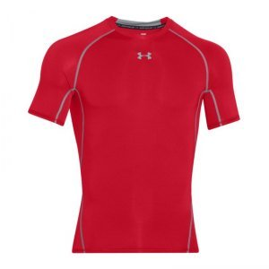 Under Armour Heatgear Armour Compresion SS Tee (Red)