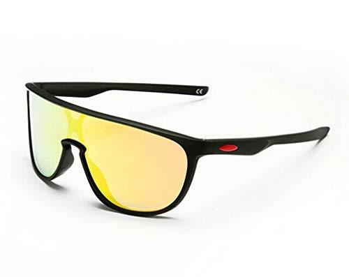 Amody Brille Männer und Frauen polarisierte voll beschichtete Sonnenbrillen Sport Klettern Angeln Brille rot