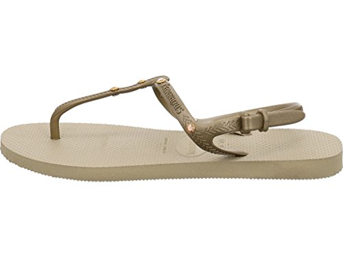 Havaianas Zehentrenner Damen Slim Nautical Sand Grey
