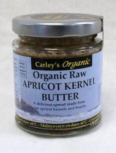 Carley\'s Organic Raw Apricot Kernel Butter 170g