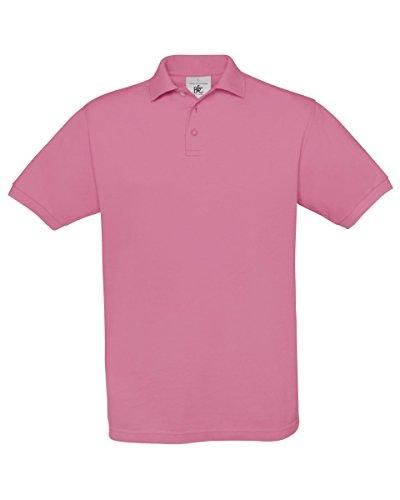 B&C Herren T-Shirt Pixel Pink