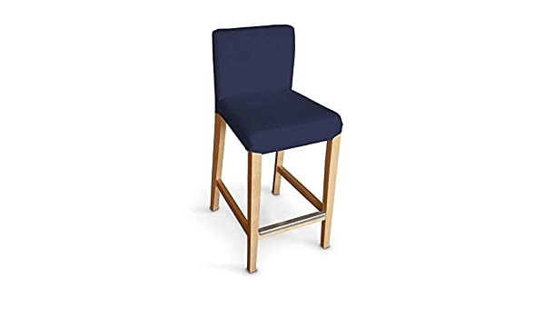 Dekoria ikea henriksdal sgabello da bar colore blu navy amazon