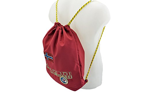 Napapijri Gym Back Pack Zaini Nuovo Taglia Unica . bordeaux