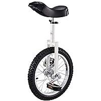 ZSH-dlc Monociclo Individual Redondo Adulto Adulto Altura Ajustable Ciclismo Ejercicio 16/18/20 Pulgada Negro (Tamaño : 20 Inch)