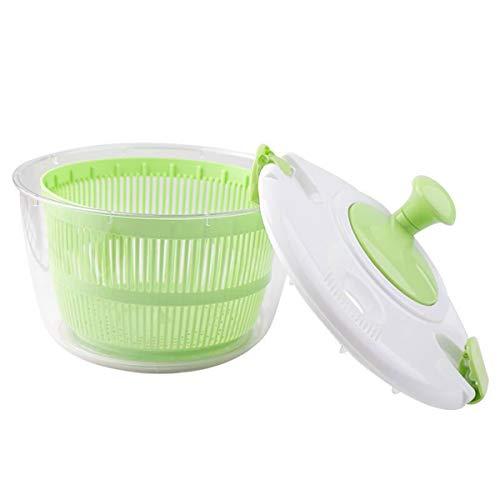 LLCSUPPLY Salatschleuder,ObstSpinner,Dörrgerät Schnelle Arbeitsersparnis Reinigung Storage Tool Salatschleuder