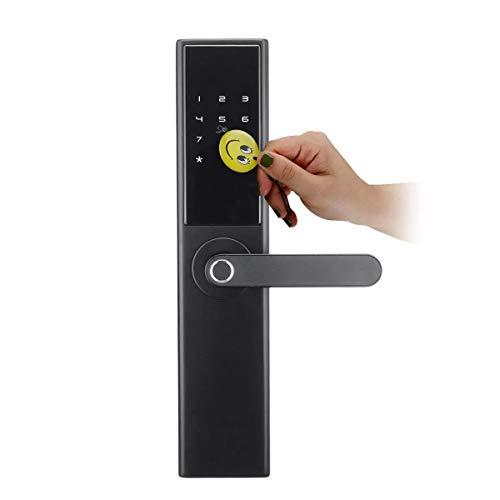 RouYuan Bluetooth Smart Türschloss Intelligent Electronic Fingerprint Verification Sicherheitsschloss-Pins