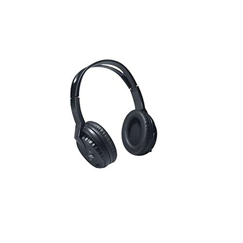 YMPA Kopfhörer IR Infrarot kabellos TV Stereoanlage für daheim zu hause Stereo Bügelkopfhörer Sender Empfänger Transmitter Aux Cinch RCA 220V schwarz IR KH-3 - 3