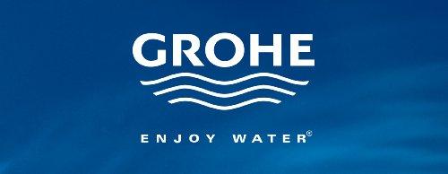 Grohe – Rainshower Cosmopolitan 160 mit Brausestangenset und 4 Strahlarten, variable Befestigung, Chrom - 3
