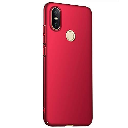 MoreChioce kompatibel mit Xiaomi 8 Hülle,kompatibel mit Xiaomi 8 Handyhülle,Premium Rot Chrom Bling Strass Silikon Shutzhülle Mädchen Stoßfest Kratzfeste Kristall Schutzhülle Bumper - Sonne Original Speicher