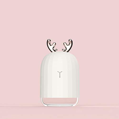 chall Luftbefeuchter Aroma Ätherisches Öl Diffusor für Home Auto USB Fogger Nebelhersteller mit LED Nachtlampe ()