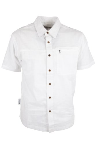 mountain-warehouse-coconut-100-cotton-mesh-lined-mens-short-sleeve-travel-shirt-white-x-large