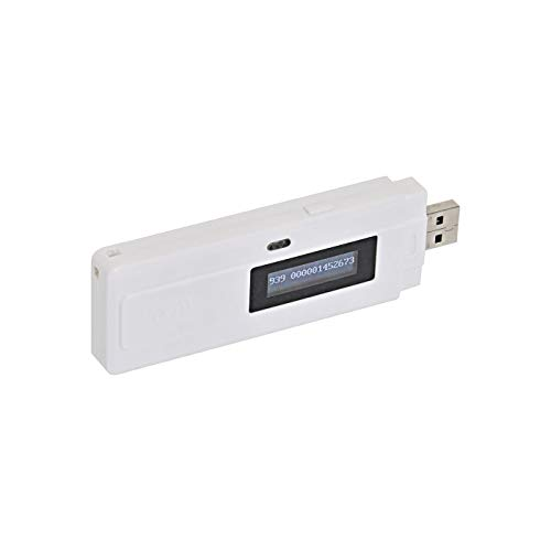 VOSS.PET Chip-Lesegerät RT10 RFID Mikro-Chip Tier-Chip Transponder | für Profis und Privatanwender | Tier-Kennzeichnung Chip-Leser RFID-Reader | USB Mini