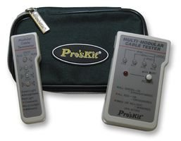 MULTI-NETWORK CABLE TESTER 3PK-NT005 By PRO'S KIT -