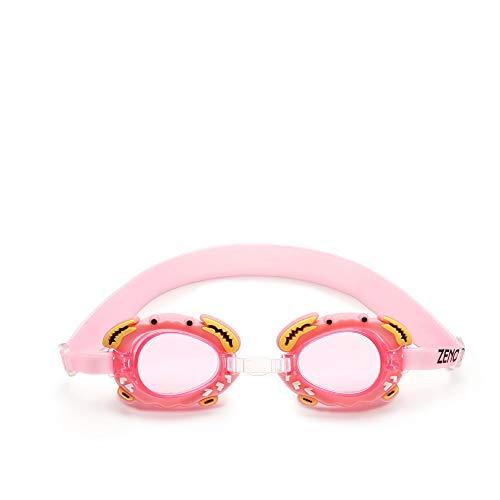 SFHGmit brille süß nebel beweis kinder schwimmen brille schwimmen brille baby - linse gürtel verstellbar,rosa.