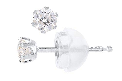 G&S Diamonds Damen -  Gold 18 Karat (750)  Platin Rund    Diamant