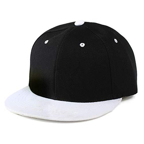 ZSGCCAP Gorra Gorra Plana Adulto Color Sólido Parcheado Sombrero De Béisbol Mujeres Y Hombres Gorra Lisa Bk5