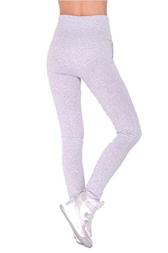 AE - Legging - Jegging - Femme Gris mélangé