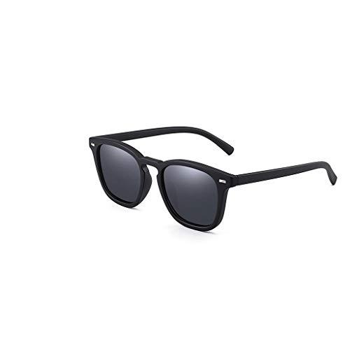 RJYJ Herren Polarized Sonnenbrille, TAC Lens Anti-UVA Comfort 30g PC Rahmen (Color : Black)