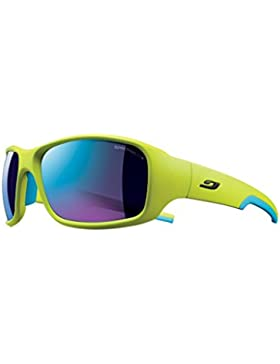 Julbo Stunt Sp3Cf - Gafas de ciclismo, color verde / azul, talla L