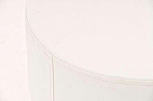 CLP Barhocker WIEN rund weiß – bis 12 Farben wählbar - 3