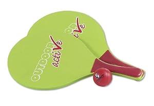 VEDES Großhandel GmbH - Ware Al Aire Libre Active Playa Bola Juego de Raqueta con Pelota