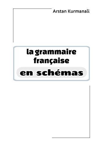Couverture du livre La grammaire française en schémas