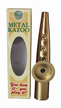 House of marbles premium quality metal kazoo hum to play musical instrument by house of marbles