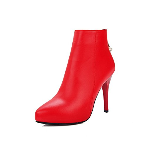 1TO9 - Sandali con Zeppa donna Red
