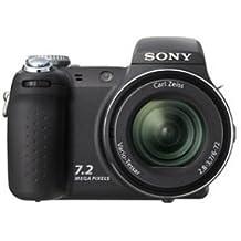 Sony Cyber-shot DSC-H5 - Fotocamera digitale stile reflex, 7,2 megapixel, zoom ottico 12 x, memoria supportata: Memory Stick Duo, Memory Stick PRO Duo, colore: Nero