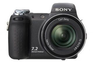 Sony Cyber-shot DSC-H5 Digitalkamera (12fach optischer Zoom, 7 Megapixel) schwarz