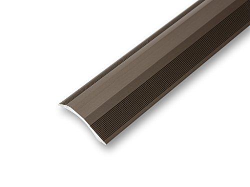 (10,21€/m) Ausgleichsprofil 45 x 900 mm selbstklebend   Übergangsprofil   Rampenprofil   unterschiedliche Höhen   Anpassungsprofil flexibel   - Höhenausgleich von 2-20 mm (900 mm, bronze) -