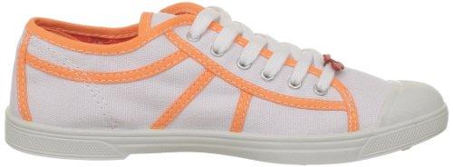 Cherry Time Basic 02, Damen Sneaker White (bianco Arancione)