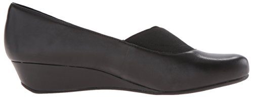 Easy Spirit Davalyn Cuir Talons Compensés Black