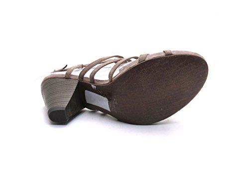 Marco Tozzi - Sandalette Beige oder Schwarz Beige