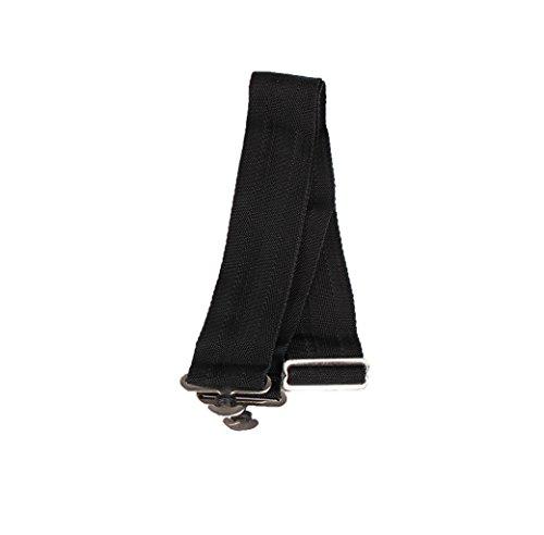QHP Deckengurt, Verstellbar, Zum Ersetzen verlorengegangener Gurte (Schwarz)