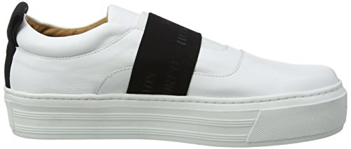 Won Hundred Shoes Randy Elastic_2, Basses femme Blanc (Blanc)