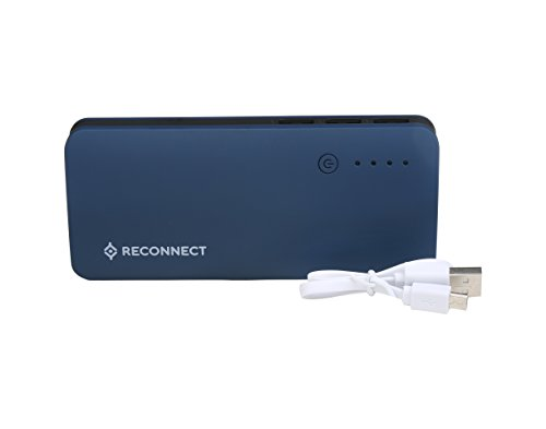 Reconnect Power Bank 10400 mAh: Portable Power, Good Quality Battery LG Lithium-ion Cell