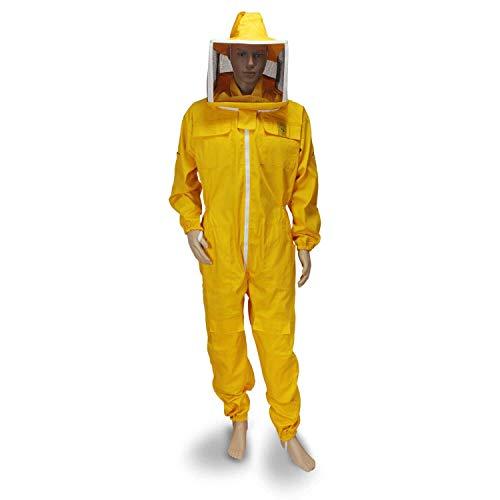 SULTAN Imker Anzug Gelb quadratische Maske Professionelle Biene Ganzkörper-Sicherheit