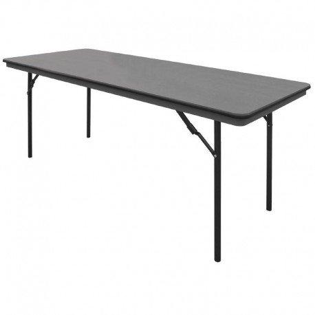 Bolero Abs Folding Banquet Rectangular Table 6ft 750X1830X760mm