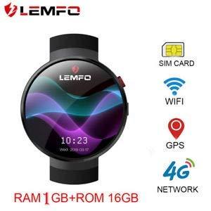 OVIO LEMFO LEM7 4G Smart Watch Android 7.0 2MP Camera GPS WiFi MTK6737 1GB + 16GB Smartwatch